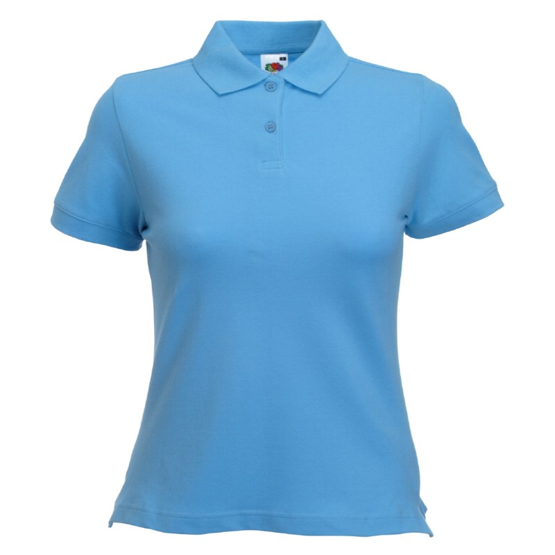 tricou polo Fruit of the Loom Lady-Fit
